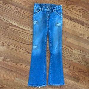 HUDSON Jeans Stretch Denim 30 Distressed USA EXC